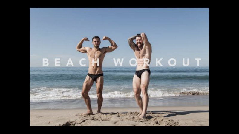 BEACH WORKOUT X SWEAT, SAND AND SPEEDOS