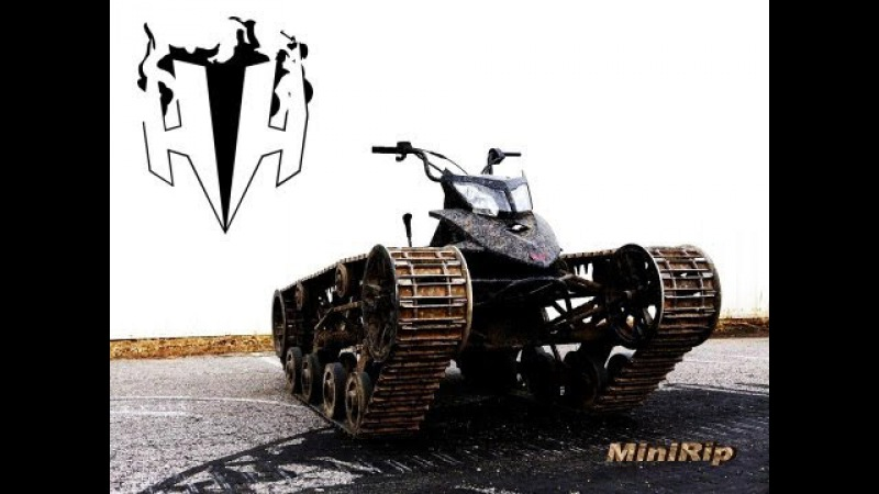 Mini Ripsaw UNREAL CRAZY VIDEO of the Most Kickass ATV EVER Built! Newest Vid never released