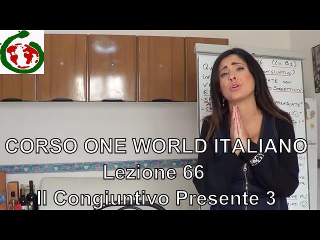 OWI 66 - Lezioni di italiano livello intermedio