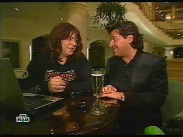 Thomas Anders Kirkorov in Programma Maximum NTV Russia