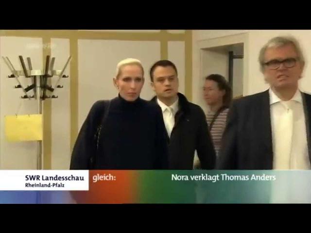 Thomas Anders Nora. SWR Landesschau 04.11.11 RUSSIAN TRANSLATION