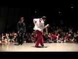 Mia(k'steelo) vs Ringo winbee(Hathor) FINAL KIDS SIDE / DANCE@LIVE 2016 KANSAI CHARISMAX
