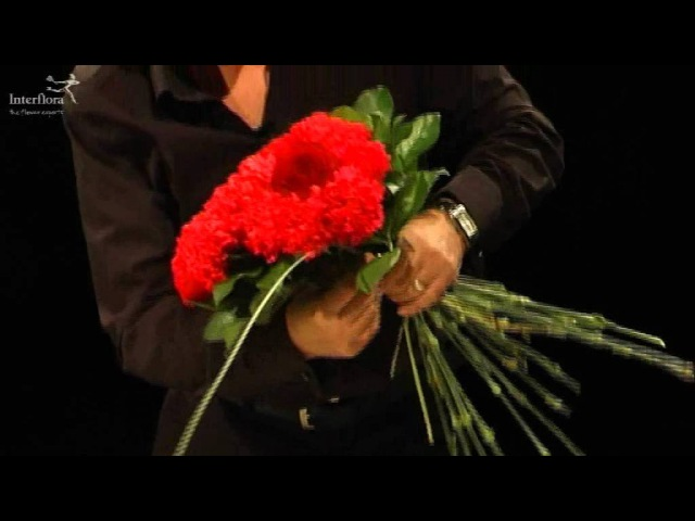 Interflora How-To: Heart Shaped Design with a Difference