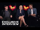 Jennifer Lawrence, Josh Hutcherson Liam Hemsworth Exclusive INTERVIEW - HG Mockingjay Part 2