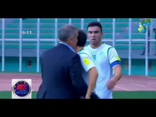 GOAL Guwanç Abylow Turkmenistan vs Guam 2018