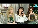 151203 Girls' Generation-TTS 소녀시대-태티서 SNSD TaeTiSeo 'Dear Santa (English ver.)' V APP Countdown Live