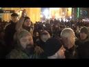 Первая потасовка с МВД на Майдане