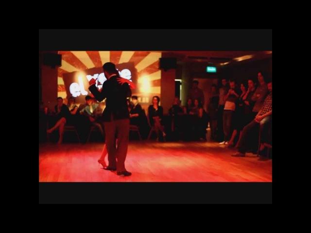 Andrés Molina Natacha Lockwood @ El Yeite Tango Club - Merceditas