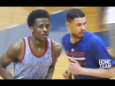 Austin Rivers Antonio Blakeney Corey Sanders Go At It In Pick Up Game