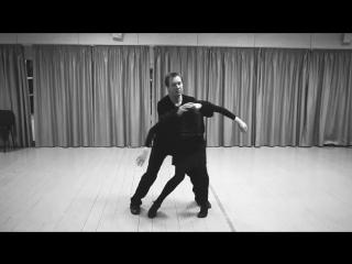 Запись с репетиции танца Чулпан Хаматовой и Евгения Миронова для картины Елены Хазановой