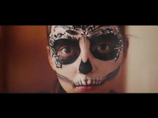 Halloween makeup tutorial - masquerade mask - makeupkaty