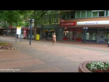 Monic Nude in Public 2