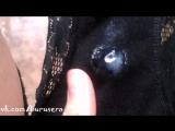 Фетиш - ношенные трусики, мокрые насквозь