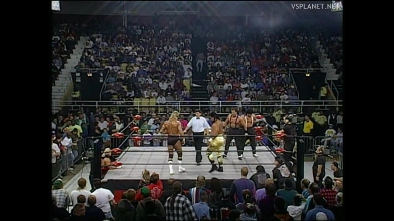 Lex Luger Ment vs American Males, WCW Monday Nitro 31.10.1995
