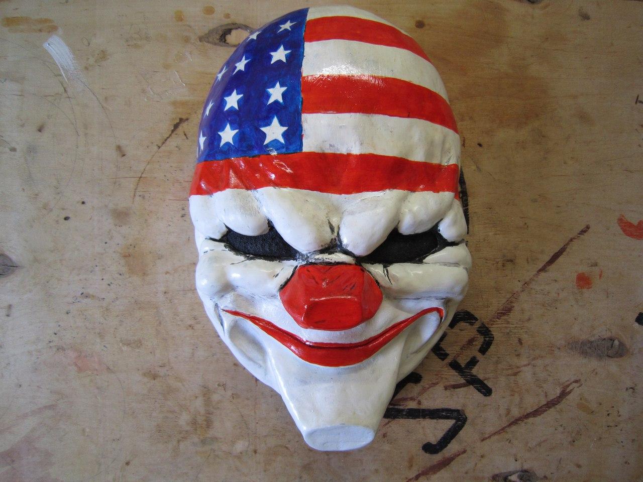 Как сделать маску далласа 825