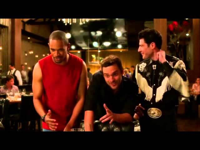 New girl- Nick, Schmidt and Coach sing i've had the time of my life