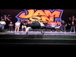 Bboy Crumbs 1998 Jam On The Groove (Highlight Solos) Orlando, FL | vk.com/BREAKS_COM
