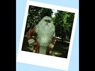 Большая борода Деда Мороза Прима 3D
