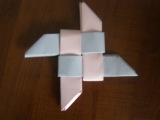 Как сделать сюрикен,звезду?Оригами