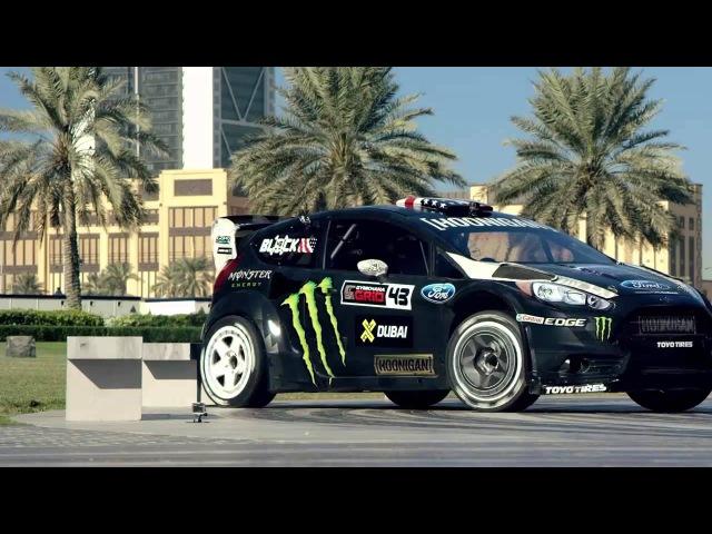 KEN BLOCK'S GYMKHANA EIGHT ULTIMATE EXOTIC PLAYGROUND DUBAI SHORT VERSION