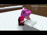 Диллерон и Миникотик. Малыш Эндермен. Minecraft Мультики про Летсплейщиков (Майнкрафт Анимация)