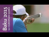 Full Replay of the Mixed Skeet Team Final  Shooting  Baku 2015 European Games