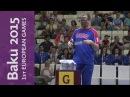 Damir Mikec wins the Men's 10m Air Pistol Final for Serbia | Shooting | Baku 2015