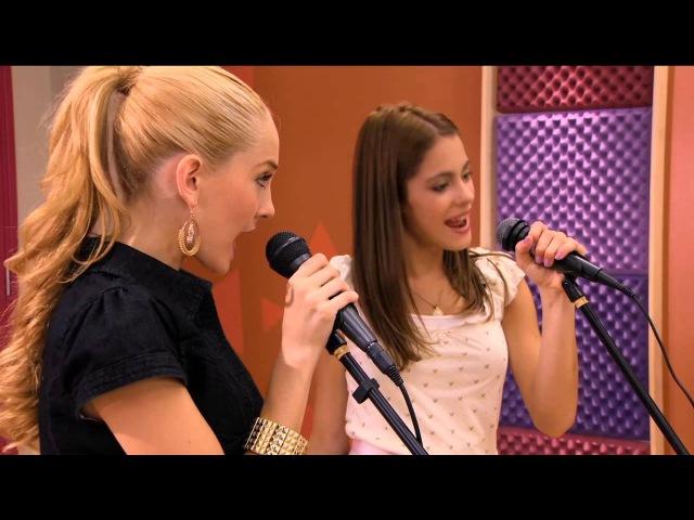 Violetta - Ludmiła i Violetta śpiewają Te creo. Odcinek 53. Oglądaj w Disney Channel!