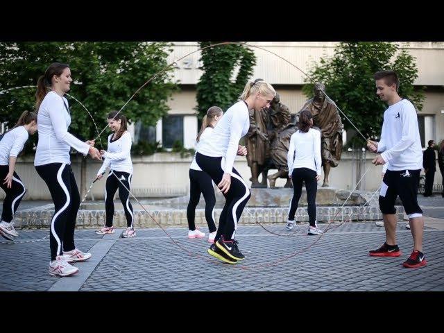 Jump Rope Team Hungary's Best Rope Skipping Team