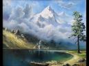 Учимся рисовать горы. Урок живописи