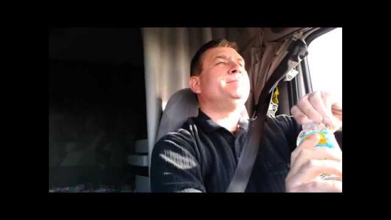Поющий дальнобойщик протроллил Крым в блокаде и Су-24