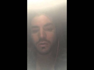 2015-12-02 Adam Lambert on Snapchat (2 snaps) - FLIPPED