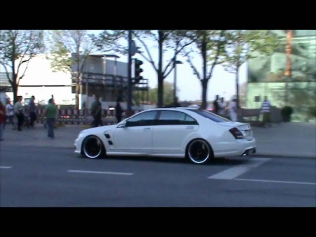 LORINSER Mercedes S63 AMG very loud acelleration sounds