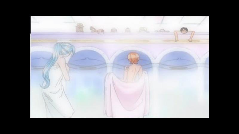 Ван Пис / One Piece - прикол. Удар счастья Нами