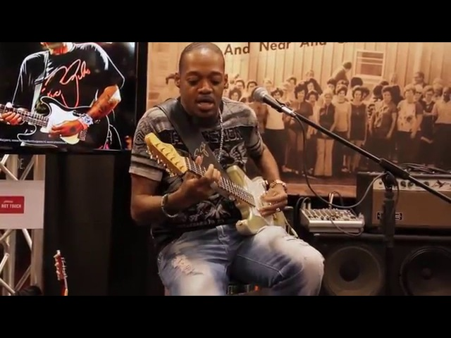 Eric Gales with Eminence at NAMM 2016
