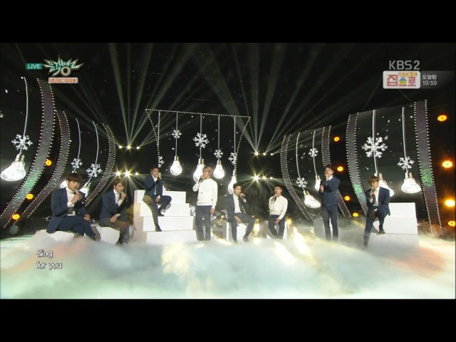 EXO 엑소 'Sing For You' KBS MUSIC BANK 2015.12.18