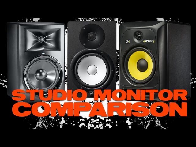 JBL LSR305 Yamaha HS5 and KRK RP5G3 Comparison Review