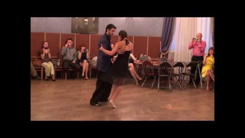 Adrian Ferreyra и Rocio Lequio Tango Milonga Traspie