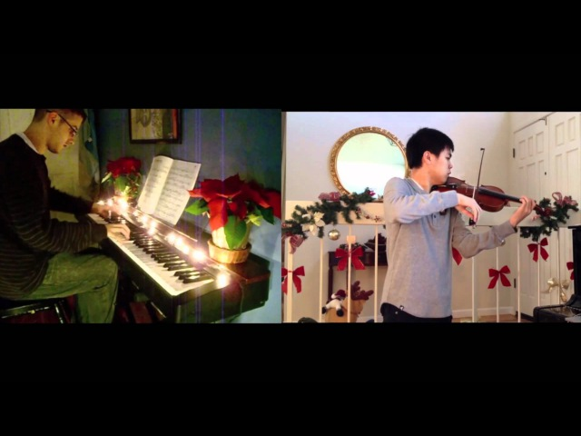 The Christmas Song Chestnuts roasting on an Open Fire Violin piano Ft Kyle Landry