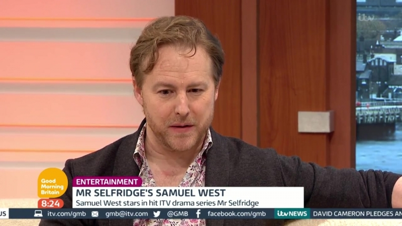 Actor Samuel West On His Role In Mr Selfridge Good Morning B