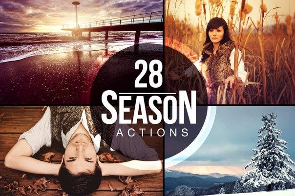 Preset 28 interesting actions for lightroom