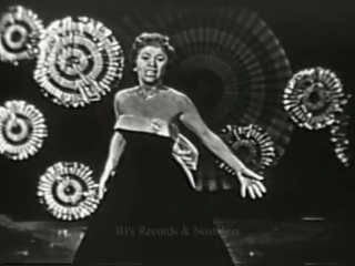 GEORGIA GIBBS.  Kiss of Fire + Hits Medley.  1958 Live Kinescope