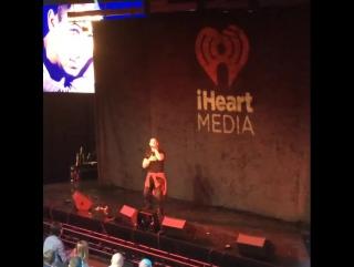 Ник представил свой новый сингл «Under You», который был написан совместно с Биби Рексой, на саммите фестиваля «IHeartMedia»
