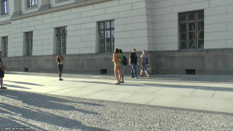 Lauren Nude in Public 2