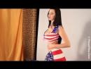 Грудастая украинка Sha Rizel (Катя Сидоренко)  HD [720p]