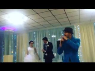 Выступление Мунира Рахмаева на свадьбе Залялиевых