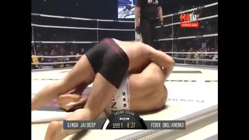 Фёдор Емельяненко - Джайдип Сингх (Fedor Emelianenko vs. Jaideep Singh) 31.12.2015