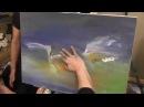Художник Игорь Сахаров, уроки рисования, научиться рисовать, птицы, цапли