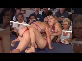 Liz Lightspeed vs. Amy O - Hot Female Wrestling Tournament