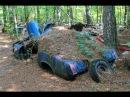 Muscle Cars брошенные автомобили Wrong Turn